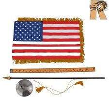 Obama - US Flag w/ Pole & Stand - 1/6 Scale - DID Action Figures