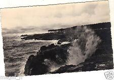 85 - cpsm - LES SABLES D'OLONNE - Effets de vagues sur la côte ( i 997)