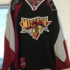 LNAH QSPHL 2002-03 ST JEAN MISSION GAME WORN ALAIN COTE HOCKEY JERSEY
