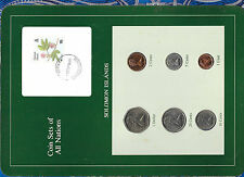 Coin sets of all Nations Solomon Islands UNC 1977-1987 2 cent FM(U) 1981