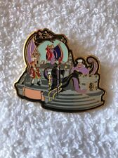 Disney Snowglobe Parade Villains Wicked Queen Captain Hook Maleficent Ursula Pin