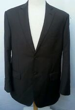 PRONTO UOMO SUIT (44R) MADE IN ITALY 100% WOOL SUPER 120 BROWN