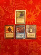 REPACK : P9 BLACK LOTUS, MOX, TIME WALK, ALPHA, FETCHLAND DUAL BI LAND MTG MAGIC