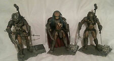 "McFARLANE ALIEN VS.PREDATOR 8"" LOT CELTIC, SCAR & ELDER PREDATORS..LOOSE FIGURES"