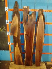 # 7868  3, Black Walnut Live Edge Slabs lumber craft wood