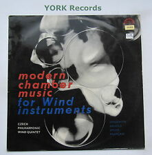 SUA ST 50582 - MODERN CHAMBER MUSIC FOR WIND INSTRUMENTS - Ex Con LP Record