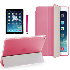 Rosa Hülle Stift Leder Tasche Smart Cover Case Für Apple iPad Mini 1 2 3