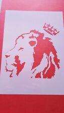 Schablonen 65 Löwe Vintage-Look Stanzschablone Shabby Möbel Wandtattoos Hunde