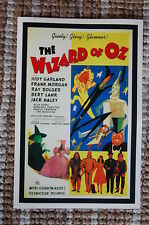 The Wizard of Oz #3 Movie Lobby Card Poster Rialto Judy Garland Frank M