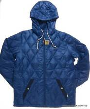 BURTON Men's size XL Blue Dorset Down Jacket Hooded Light Winter/Fall Coat large