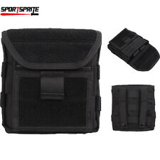 Tactical Hunting Molle CS Admin Magazine/Storage Bag Utility Pouch Bag Black