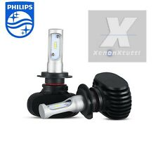 KIT LED 55W XENON 7200 LM LUMEN H7 6000K LAMPADE LED