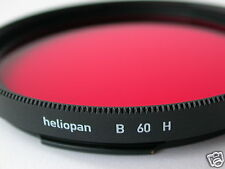 Heliopan Hasselblad b60mm RED FILTER FILTRE Rouge HIFLO Rosso rotfilter b60 a