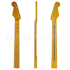 Lefty Left Handed Electric Guitar Neck for ST Parts Replacement Maple 22 Fret