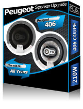 Peugeot 406 Coupe Front Door Speakers Fli Audio car speaker kit 210W