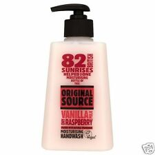 Original Source Vanilla and Raspberry Moisturising Handwash 250ml