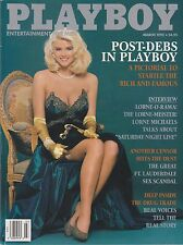 PLAYBOY MARCH 1992-A - TYLYN JOHN - LORNE MICHAELS - SOCIETY DARLINGS NUDE!!!