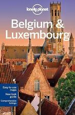 Travel Guide: Lonely Planet - Belgium and Luxembourg by Andy Symington,...