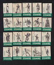 Série  étiquette allumette Belgique BN7944 Café Storme Personnages 1