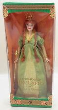 Barbie Doll Collector Legends of Ireland Faerie Queen  Never Removed From Box