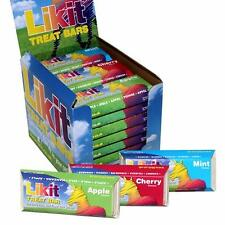 3 X Horse Likit Treat Bars Apple Cherry and Mint Rewards Snacks