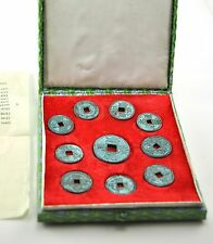 Vintage Chinese Northern SONG Dynasty Set Coin Currency Bronze Feng Shui Metal