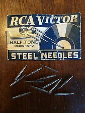 RCA Half Tone Needle Single Gramophone Phonograph Record Stylus  78rpm Steel
