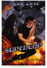 SUPERCOP MOVIE POSTER ORIGINAL 1 SIDED 27x40  JACKIE CHAN MICHELLE YEOH