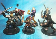 Dungeons & Dragons Miniatures Lot  Balanced Character Party !!  s101