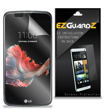 4X EZguardz LCD Screen Protector Skin Cover Shield HD 4X For LG K10 (Clear)