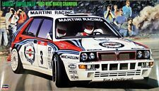 Hasegawa CR15 Lancia Super Delta 1992 WRC Makes Champion 1/24 scale kit
