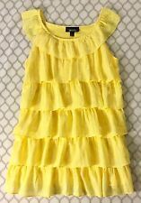 Girl's AMY BYER Tiered Ruffled Dress size L (10-12). SPRING SUMMER