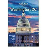 WASHINGTON DC Lonely Planet Travel Guide Book with Map NEW restaurants museums +