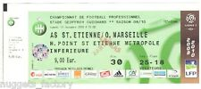 Billet  / Place  OM Olympique de Marseille - AS St Etienne vs OM  ( 026 )