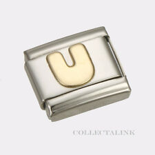 "Original Nomination Classic Gold ""U"" Charm"