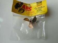 Rc Boat prop ABC H-1616R 3 blade new