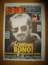 NME 1995 OCT 21 U2 BONO CAST PRETENDERS EAST 17 ERASURE