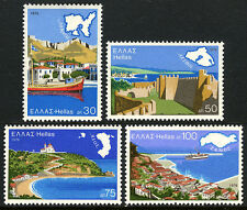 Greece 1187-1190, MNH. Greek Aegean Islands: Lemnos, Lesbos, Chios, Samos, 1976