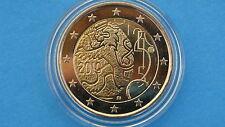 """♣ Pièce 2 euros   """" FINLANDE  2010  """" 150 ans de monnaie    """"  sous capsule"""