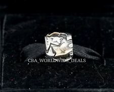 NEW Authentic Pandora Two Tone Silver & 14k Gold Golden Star Charm 790563