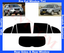Pre-Cut Window Tint Hyundai Santa Fe 5D 07-12Rear Window & Rear Sides Any Shade