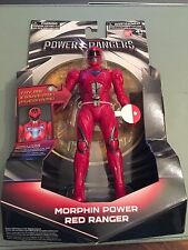 Power Rangers Movie 2017 Red Ranger 17.5H cm Figure - Light up morphin grid