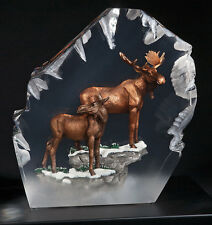 "Starlite Originals ""Majesty"" Moose Art Sculpture Statue by Kitty Cantrell-NEW"
