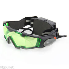 NEW JYW-1312 Night Vision Glasses Goggles Adjustable With LED Flip-Out Lights US
