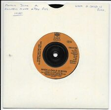"Johnny Mathis & Gladys Knight - When A Child Is Born -  7"" Single - 1980"