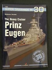 Kagero Book: The Heavy Cruiser Prinz Eugen - 96 pages, 176 graphics