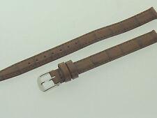 # l570 # Orologi Bracciale in pelle gioielliere qualità XL 10 mm argilla-Marrone imitazioni-Optik
