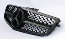 Mercedes C Class W204 C63 Look Grille Full Matt Black