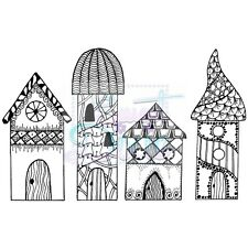 Sweet dixie clear stamps zendoodle rtg maisons par lindsay mason fée journal art