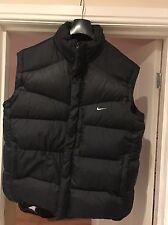 Original Mens Nike puffa Duck Down  Gilet / Bodywarmer Size XL Quality